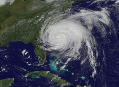 Hurricane Irene August 28, 2012 Cape Lookout, NC. USA