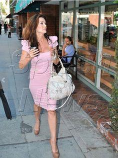 Lisa Vanderpump's Signature Pencil Dresses | Big Blonde Hair : Big Blonde Hair http://www.bigblondehair.com/real-housewives/rhobh/lisa-vanderpumps-signature-pencil-dresses/