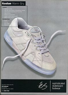 I think Im not alone when I say I love these kicks. Old school Eric Kostons.