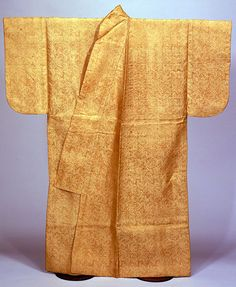 15th century Muromachi period man's kosode from the Tokyo National Museum.