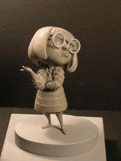 Character Sculpt By Ruben Procopio - The Incredibles