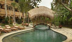 The main pool at the Alaya Resort in Ubud, Bali. Landscape & Interior Design by Made Wijaya.