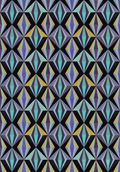 Angular, No. 05, Plumb Art Print
