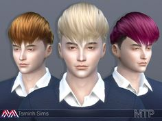 Simple hair for male.  Found in TSR Category 'Sims 4 Male Hairstyles'