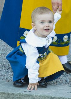 Princess Estelle is the daughter of Crown Princess Victoria and Prince Daniel of Sweden.