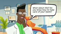 eLearning Game – Can You Keep Your Teeth?!   Instructional Design by Tracy Carroll First Tooth, Instructional Design, Dental Hygiene, Teeth, Challenges, Animation, Game, Learning, Studying