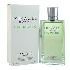 An energizing blend of notes, Miracle L'Aquatonic for Homme is truly a one-of-its-kind fragrance from the house of Lancome.   #energizingmiracle #miraclescent #fragrancebuy