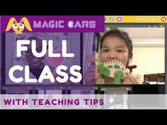 Watch an entire Magic Ears class! 25 minute English class on our interactive platform! Actual class footage with teaching tips throughout. Virtual Jobs, Virtual Class, English Class, Teaching Tips, Esl, Teacher, Student, Magic, Education