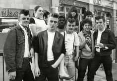 These incredible pictures of Teddy Boys give us a glimpse into what life was like as a young adult in London in the 1950s - long before mods, rockers, new romantics and disco queens appeared on the scene.  The images feature all manner of raucous scenes from across the capital, from the Wembley Rock and Roll festival to the famous Adam & Eve pub on Homerton High Street,  The slick subculture emerged in the 1950s as Britain was was coming to the end of post-war auster...