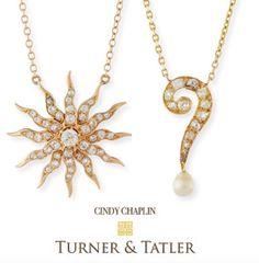 Turner & Tatler Diamond Question Mark Pendant Necklace eOD2px