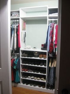 bookshelf move all draws tothe bottom for shoes and use thetop space for other things