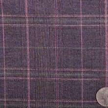 Purple/Navy/Metallic Purple/Se Plaid Suiting