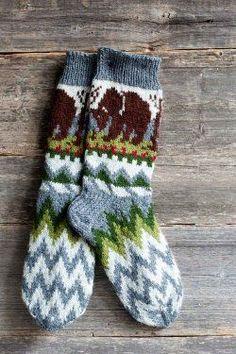 Finnish champion socks - Knitting and Crochet - Large Craft Knitting Socks, Hand Knitting, Knit Socks, Woolen Socks, Cozy Socks, Winter Socks, Sock Shoes, Knit Crochet, My Style