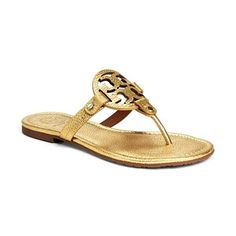 52d911820 Women s Tory Burch  Miller  Sandal (245 CAD) ❤ liked on Polyvore featuring