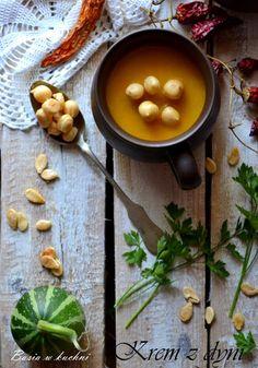 Basia w kuchni: Krem z dyni, rozgrzewający, pikantny -  prosty prz...