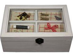 #Deko #Landhausstill Floating Nightstand, Decorative Boxes, Table, Furniture, Home Decor, Cottage Decorating, House Styles, Cottage Chic, Floating Headboard
