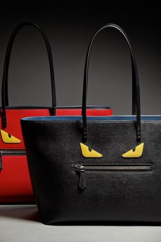 Personality? It's in the bag. Add some character with these frighteningly fierce bags by Fendi.