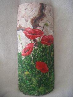 teja antigua pintada a mano teja antigua pintada a mano teja antigua,pinturas acrilicas pintado a mano