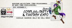 Kagi Nippon He ~ Anime Nippon-Jin: ŐSZI COSPLAY.hu PARTY & FANTASY EXPO 2015 - Budape...
