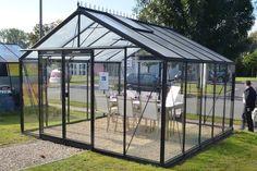 ACD Retro Maxi 14,1 m² turvalasilla, musta runko. KAUPAN PÄÄLLE lisäovi (ARVO 299,-) - Kivikangas