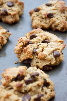 Perfect (Paleo) Chocolate Chip Cookies |simplegreenmoms.com #simple #delicious #glutenfree