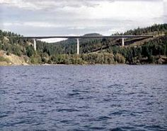 Centennial Bridge over Lake Coeur d'Alene- love the view driving over this.