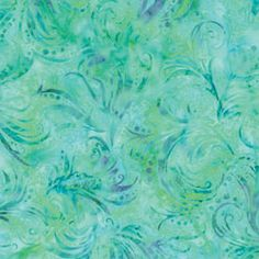 Hoffman Bali Batiks Foliage Streamers Acapulco