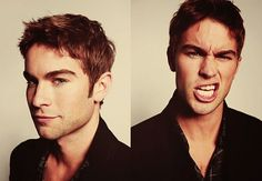Chase Crawford. Doesn't matter if you're just plain weird, I love fun looking pictures.