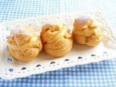 バター不使用☆米粉シュークリームの画像