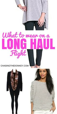 Long haul flights suck, so we've made this list of what to wear on a long haul flight to make it just a wee bit more comfortable.