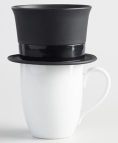 A pour-over coffee brewer that'll tip his hat every morning. | 29 Gifts That Will Trick People Into Thinking You're Fancy