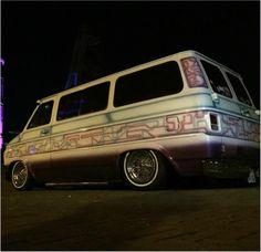Vintage van paint stock mild and wild paint gallery - Vintage Van Company Chevrolet Van, Chevy Van, Cool Trucks, Chevy Trucks, Vanz, Day Van, Van Design, Cool Vans, Hyundai Accent