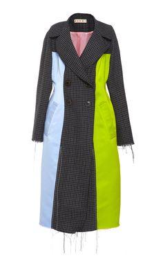 Virgin Wool Duster Coat by MARNI for Preorder on Moda Operandi