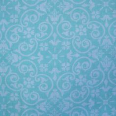 Bedroom Pillow fabric idea. Quilter's Showcase Fabric- Large Damask Blue & White at Joann.com