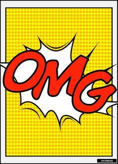 Your pins are SOOOO SASSY! Keep up the good work! Roy Lichtenstein, Arte Pop, Comic Books Art, Comic Art, Richard Hamilton, Comics Vintage, Tableau Pop Art, Sketch Manga, Culture Pop