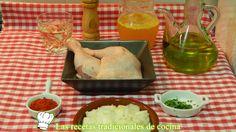 Receta fácil de pollo con salsa de pimentón
