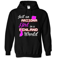 Arizona-Finland Girl, Get yours HERE ==> https://www.sunfrog.com//Arizona-Finland-Girl-6862-Black-Hoodie.html?id=47756 #christmasgifts #merrychristmas #xmasgifts #holidaygift #finland #visitfinland #thisisfinland #igersfinland