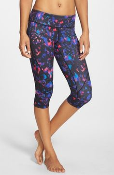 small Zella 'Live In 2' Slim Fit Capris available at #Nordstrom