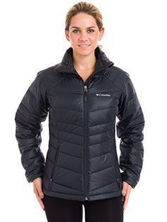 Columbia women's gold 650 turbodown radial jacket