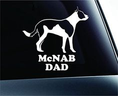 McNab Dad Dog Symbol Decal Paw Print Dog Puppy Pet Family Breed Love Car Truck Sticker Window (White) ExpressDecor http://www.amazon.com/dp/B00SZ6J73W/ref=cm_sw_r_pi_dp_YX52ub017MM4X
