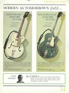 Gretsch Guitars - This Is The Article You Will Need About Learning Guitar Guitar Shop, Music Guitar, Guitar Picks, Cool Guitar, Ukulele, Guitar Art, Gibson Guitars, Fender Guitars, Gretsch