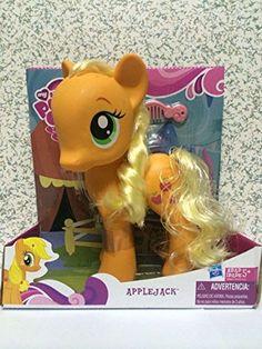 New My Little Pony Friendship is Magic Applejack 8 inch V...