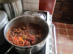 The Grey Hair Granny: Heavenly Vegetarian chilli
