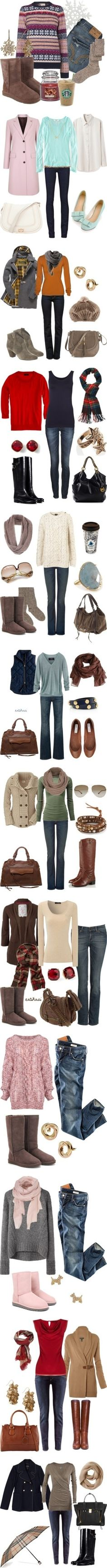 """""""Winter Outfits"""" by natihasi on Polyvore by Olive Oyl"""