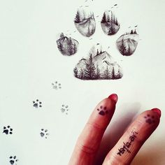 Step by step you get to the finish line … Dual cat footprint exposure! Dog Tattoos, Animal Tattoos, Life Tattoos, Body Art Tattoos, Small Tattoos, Tatoos, Sleeve Tattoos, Footprint Tattoo, Cat Footprint