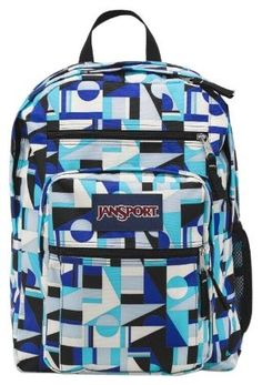 Jansport Backpack Superbreak Navy Blue for School Work or Play ...