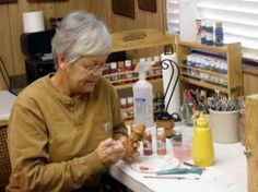 wood painting techniques @ http://www.woodcarvingillustrated.com/tools-and-tips/motivated-to-create.html