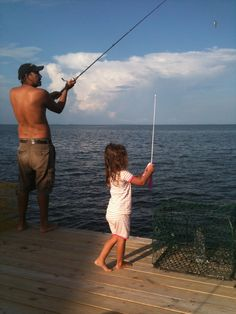 Fishing with Daddy. Sent in by Natalie Dutt