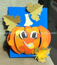 ДЕТСКИЕ ПОДЕЛКИ Autumn Art, Autumn Trees, Easy Paper Crafts, Diy And Crafts, October Art, Kindergarten Art, Projects To Try, Classroom, Seasons