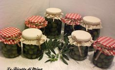 Olive verdi (deamarizzate)